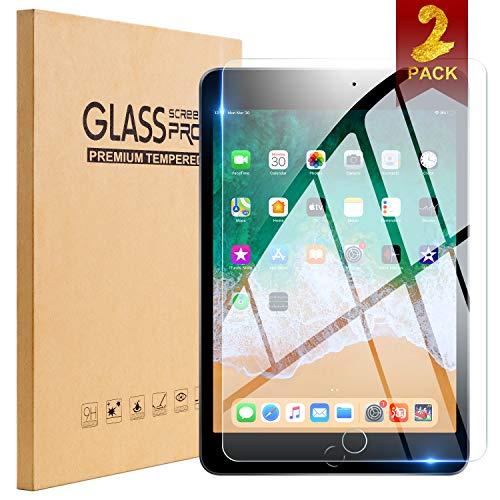 TopEsct Tempered Glass Screen Protector [2 Pack] for iPad Air,iPad Air 2,iPad Pro 9.7,iPad 5th Generation,iPad 6th Generation,Anti-Glare, Matte, Anti-Fingerprint, Anti-Scrat (iPad 9.7 inch)
