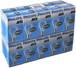20x Philips AGL standaard gloeilamp 60W E27 230V gloeilamp helder