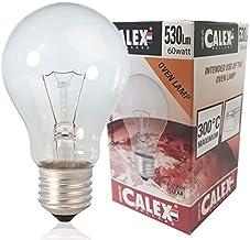 Calex - Oven lamp 300°C A60 - Oven lampje - Helder glas - Ø60mm - E27 Fitting - 60W 2700K 530lm - A60