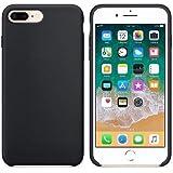 CABLEPELADO Funda Silicona iPhone 6/6s Textura Suave Color Negro
