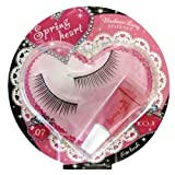 Koji Spring Heart False Eyelashes (No.7 Medium Long)