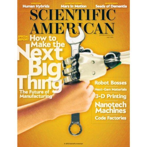 Scientific American, May 2013 audiobook cover art