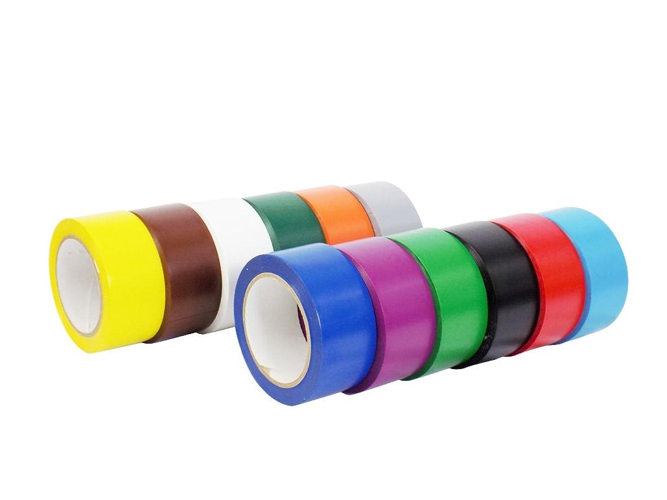 落ち着いて変装したフィードオン抱くcvt-536ビニールPinstripingダンスフロアテープ、安全マーキング床スプライシングテープ複数のサイズと色でも使用可能) : 36ヤード。