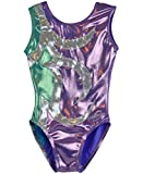 Obersee O3gl042cl Body per Ginnastica, Abby Lilac, CL (8-10 years) Bambina