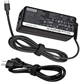 65W USB-C Power Supply Laptop Charger for ThinkPad p52s t480 t480s t580 t580p p53s t590 t490s t490 t495 t495s X1 Carbon 6th Gen Yoga 920 C930 730-13IKB,4x20m26268 Type-C Power Supply Adapterr C