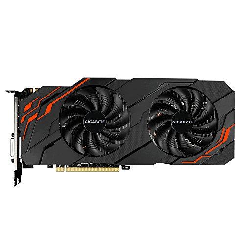 Gigabyte GV-N107TWF2-8GD GeForce GTX 1070 Ti 8GB GDDR5 - Tarjeta gráfica (GeForce GTX 1070 Ti, 8 GB, GDDR5, 256 bit, 7680 x 4320 Pixeles, PCI Express x8 3.0)