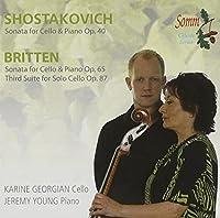 Cello Sonatas by SHOSTAKOVICH / BRITTEN (2008-02-19)