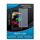 SWIDO Bildschirmschutzfolie für Lenovo P70 [3 Stück] Kristall-Klar, Extrem Kratzfest, Schutz vor Öl, Staub & Kratzer/Glasfolie, Bildschirmschutz, Schutzfolie, Panzerfolie