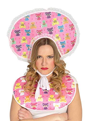 Guirca rosa blau Baby Set für Erwachsene Karneval Fasching JGA Party lustig süß pink Schnuller