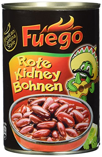 Fuego Rote Kidney Bohnen, 6er Pack (6 x 400 g)