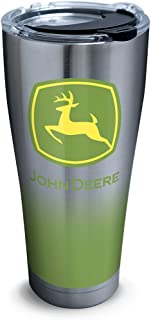 Tervis 1290655 John Deere - Ombre Insulated Tumbler, 30 oz Stainless Steel, Silver