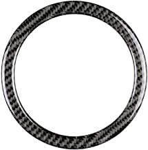 GreceYou Carbon Fiber Steering Wheel Ring Trim Fit for Mini Cooper R55 R56 R60 2007-2013