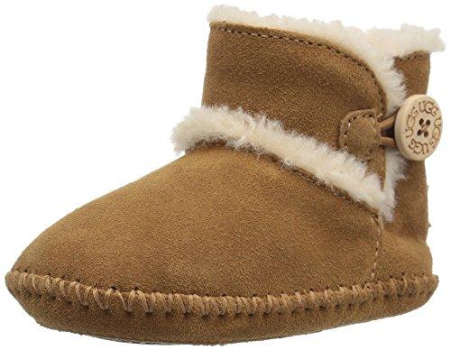 UGG Baby Lemmy II Ankle Boot, Chestnut, 2/3 M US Infant