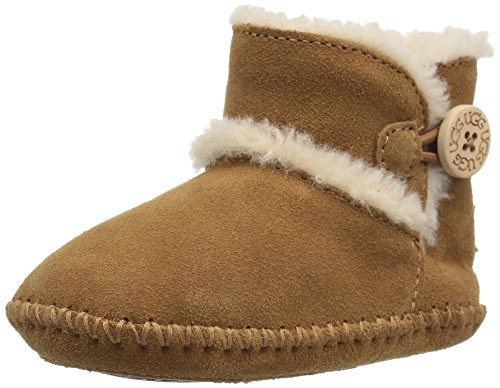 UGG Baby Lemmy II Ankle Boot, Chestnut, 1 M US Infant