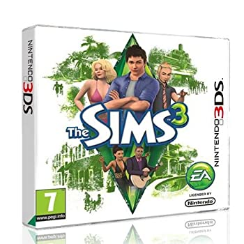 The SIMS 3 for Nintendo 3DS game EURO
