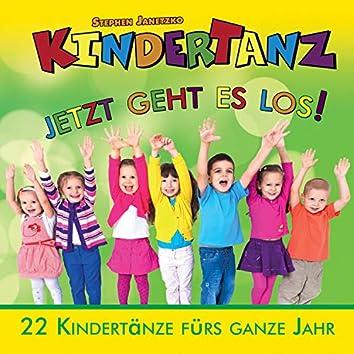 Kindertanz: Jetzt geht es los! (22 Kindertänze fürs ganze Jahr)