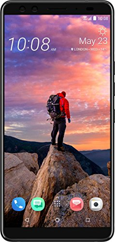 HTC U12+ - Smartphone sin SIM (64 GB), color negro