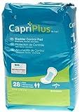 Medline Capri Plus Bladder Control Pads, Regular, 28 Count (Pack of 12)