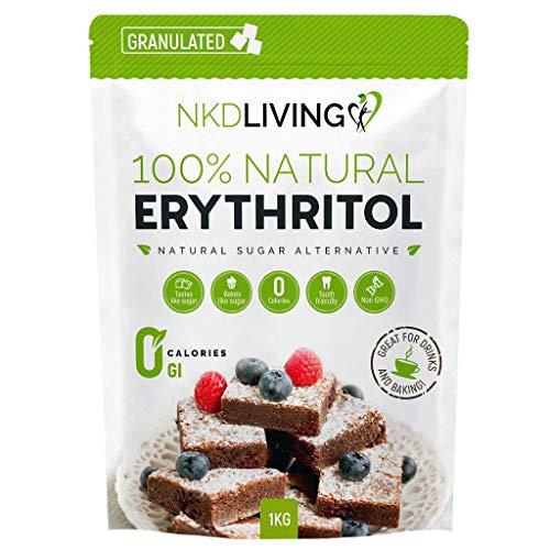 NKD Living Natural Granulated Erythritol 1Kg