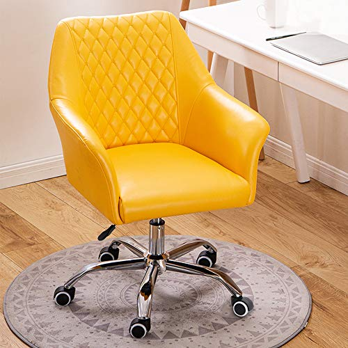 Office Chair Swivel Chair, Ergonomic PU Leather Armchair,...
