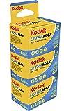 Kodak Ultra MAX 400 - Película Negativa en Color (36 exposiciones) Color Amarillo