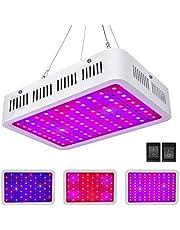Roleadro Fuctoion Led-plantenlamp, 1000 W, volledig spectrum met vegan / Bloom LED Grow Light met IR UV-licht voor broeikas, planten, groenten en bloemen