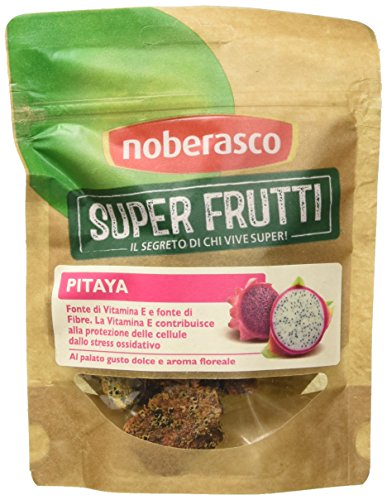 Pitaya 60 g- Noberasco Superfrutti - Confezione da 8 pacchetti da 60g-Pitaya Essiccata (frutto del dragone)