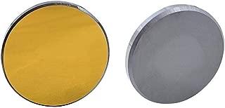 F-Jiujin-co2 20 Silicio Chapado en Oro de 25 mm de diámetro for máquina de Grabado y Corte por láser de CO2 (Diameter : 20mm)
