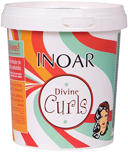 INOAR PROFESSIONAL - Divine Curls Mask- Moisturizes & Nourishes Each Strand Without Weighing...