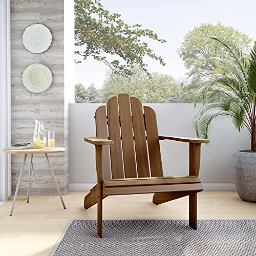 Linon Gavil Natural Large-scale Sale price sale Brown Chair Adirondack