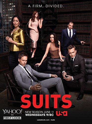 Póster de la serie de televisión clásica de Eliteprint Suits, A4, con material de impresión de 250 g/m².