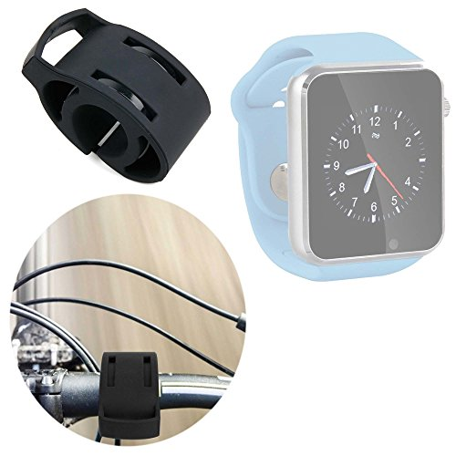DURAGADGET Soporte para Reloj YuanGuo | Smarter | Smartlife YG8 | Stoga ST-DM360 | Turnmeon | Viwel | VOSMEP para Manillar De Bicicletas