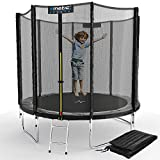 Kinetic Sports Outdoor Gartentrampolin Ø 244, TPLS08, inklusive Sprungtuch aus USA PP-Mesh...