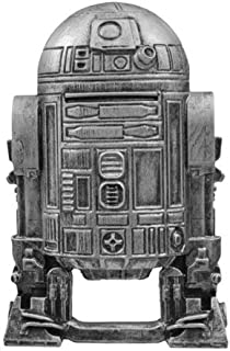 TBQG Star Wars R2D2 Stainless Steel Action Figure,Souvenir Gift