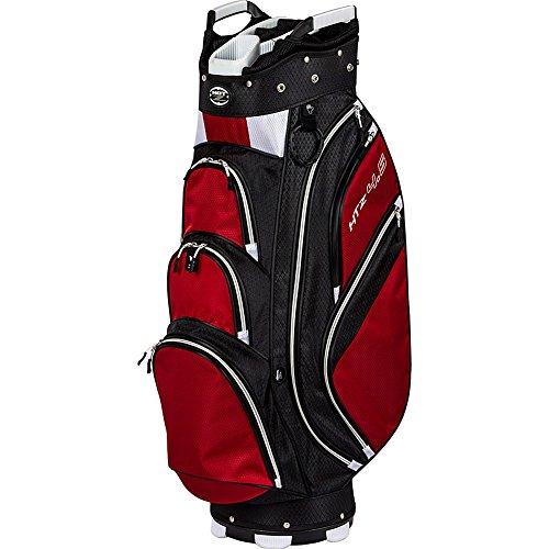 Hot-Z Golf 4.5 Cart Bag, Black/Red