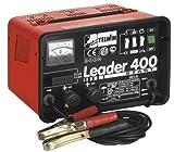 Caricabatterie Starter Telwin Mod.Leader 400 230V, Carica batterie e avviatore per la carica di batterie ad elettrolita libero (WET) con tensione di 12/24Vc/protezione da sovraccarichi