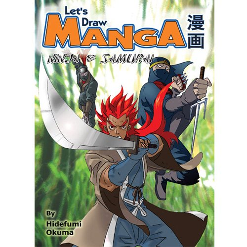 Let's Draw Manga: Ninja and Samurai (English Edition)