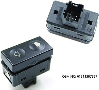 tratteggio Posteriore Visiera in plastica Sfumature di Protezione Protezione Anti deflettore per Pioggia Solare WHJIXC per KIA Soul 2010 2011 2012 2013