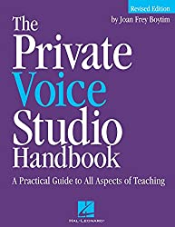 The Private Voice Studio Handbook by Joan Frey Boytim