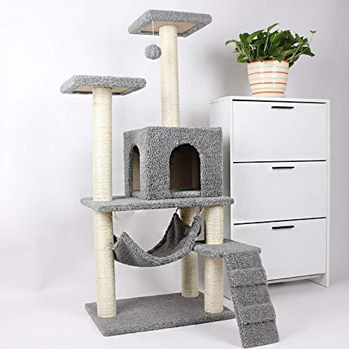 Axiba Spelen Torens Bomen voor Katten Kat klim frame kat nest kat Boom kat springen platform voor het slapen spelletjes 37cm* 32cm * 32cm