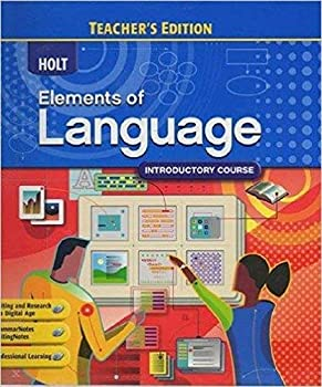 Holt Elements of Language Introductory Course Tchr Ed 0030947308 Book Cover