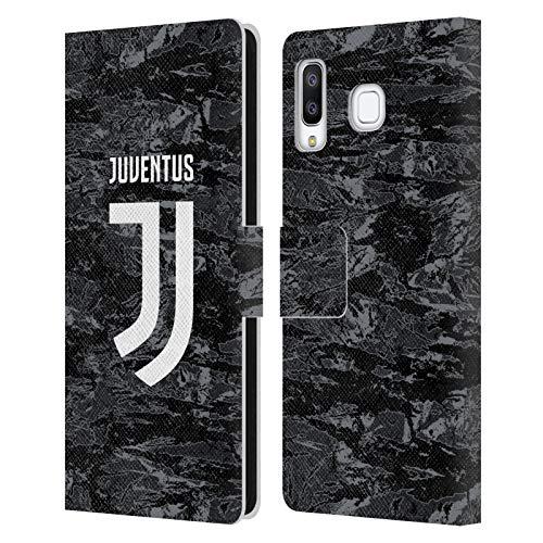 Head Case Designs Offizielle Juventus Football Club Home Goalkeeper 2019/20 Race Kit Leder Brieftaschen Huelle kompatibel mit Samsung Galaxy A8 Star/A9 Star