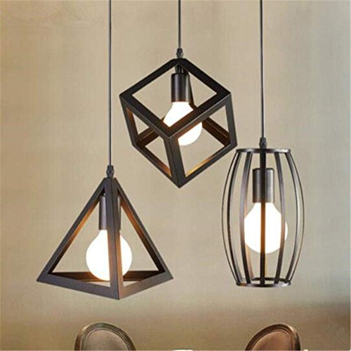 AI LI WEI Juan mooie lampen/binnenverlichting kroonluchter lichten smeedijzeren hanger kroonluchter verlichting plafondlamp-lamp restaurant ophangsysteem 220V, B