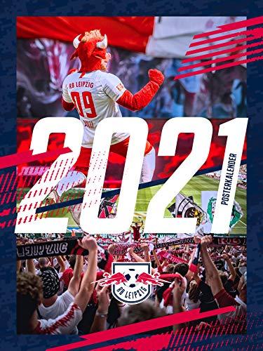 RB Leipzig Kalender 2021, Unisex One Size - Original Merchandise