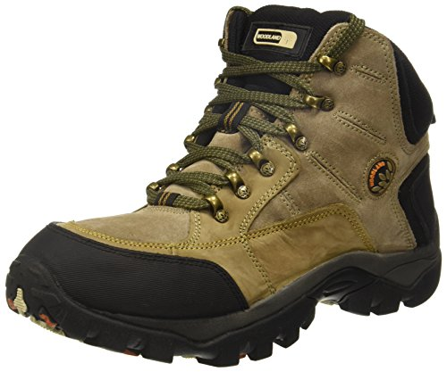 Woodland Men's Khaki M16 Leather Boots-10 UK/India (44 EU) (GB 1207112CMA)