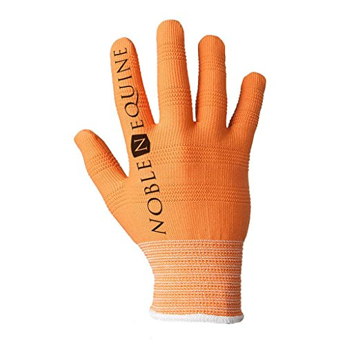 Noble Outfitters Men's True Flex Roping Gloves, Orange, Small