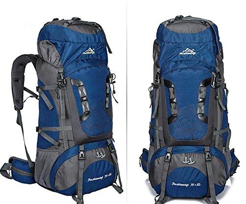 Nouveau sac d'alpinisme extérieur professionnel voyage cadre extérieur imperméable de sac à dos du sac à dos grande capacité , deep blue