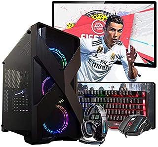 """Pc Gamer Completo Intel i5 4º Ger. GTX 1050TI 4GB 8GB Hd 1TB Wi-fi 19"""""""