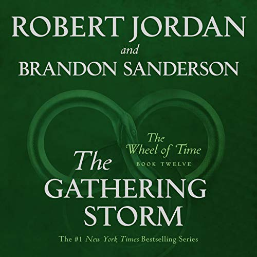 The Gathering Storm Audiobook By Robert Jordan, Brandon Sanderson cover art