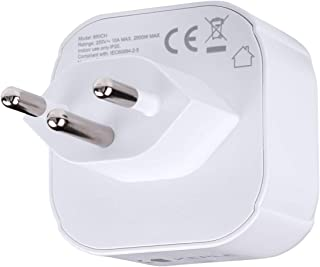 Swiss Suisse CH Adapter Plug Voyage Type J a EU Europe European Type C E F Prise Socket Adaptor pour Spain ES France FR Ge...